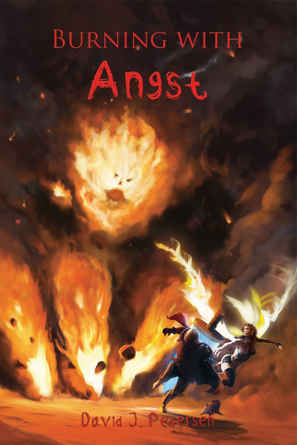 Burning with Angst Cover