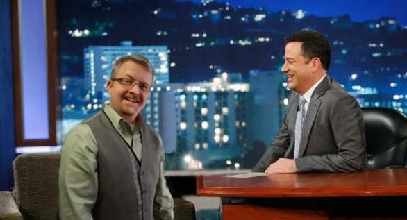 David Pedersen on Jimmy Kimmel Live