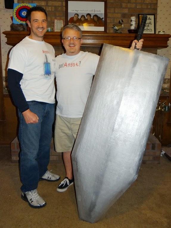 Matt David and Giant Sword