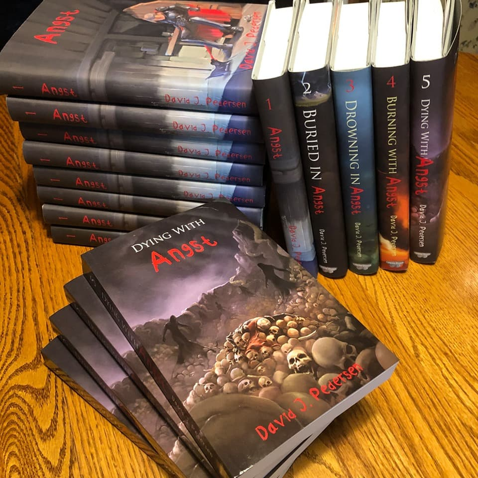 Angst Hardcover Books