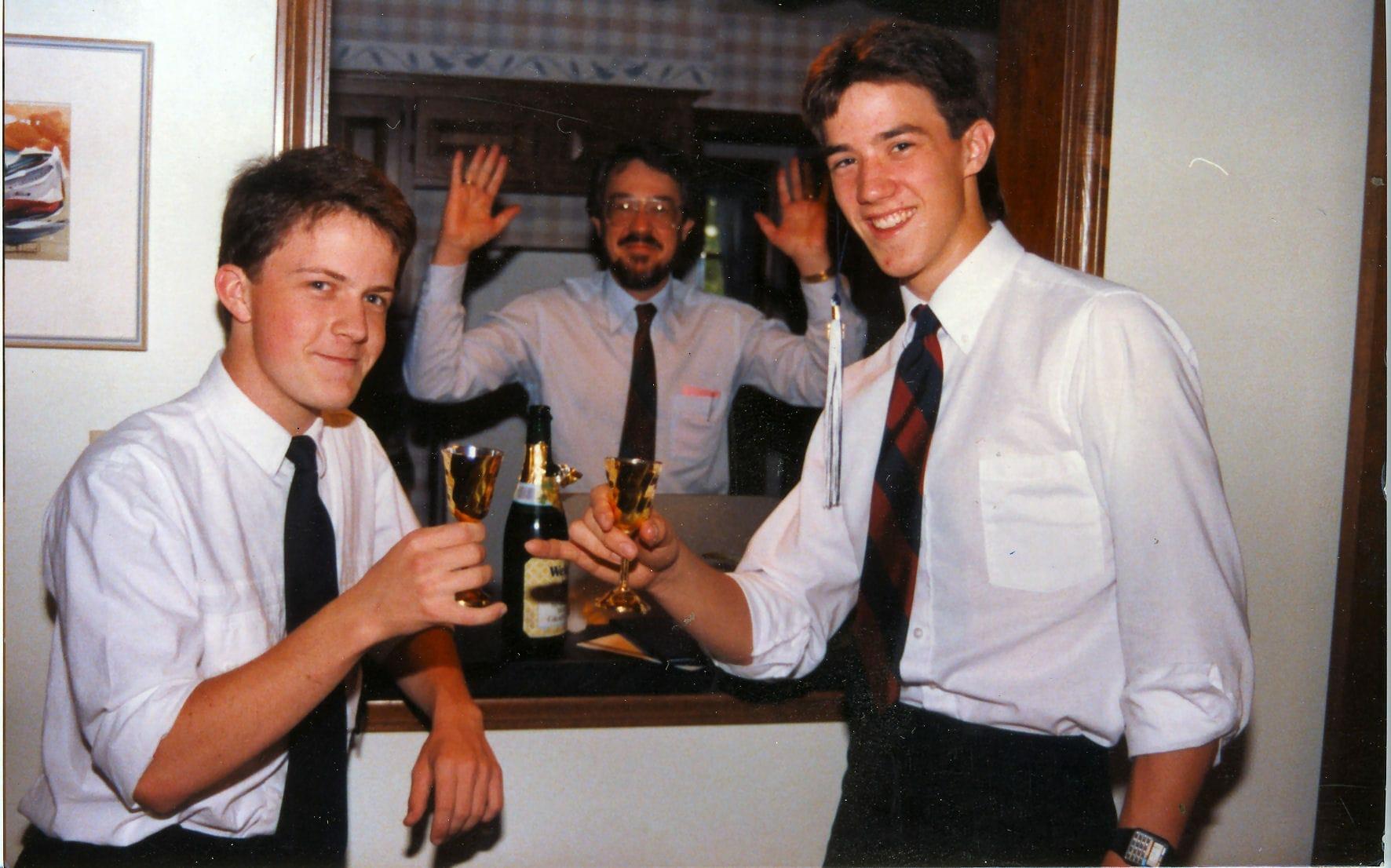 David Matt and Matt's Dad