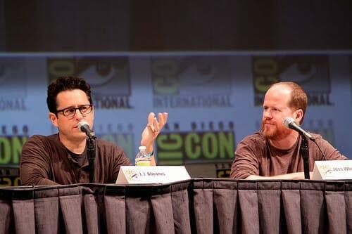 JJ Abrams David Pedersen and Joss Whedon