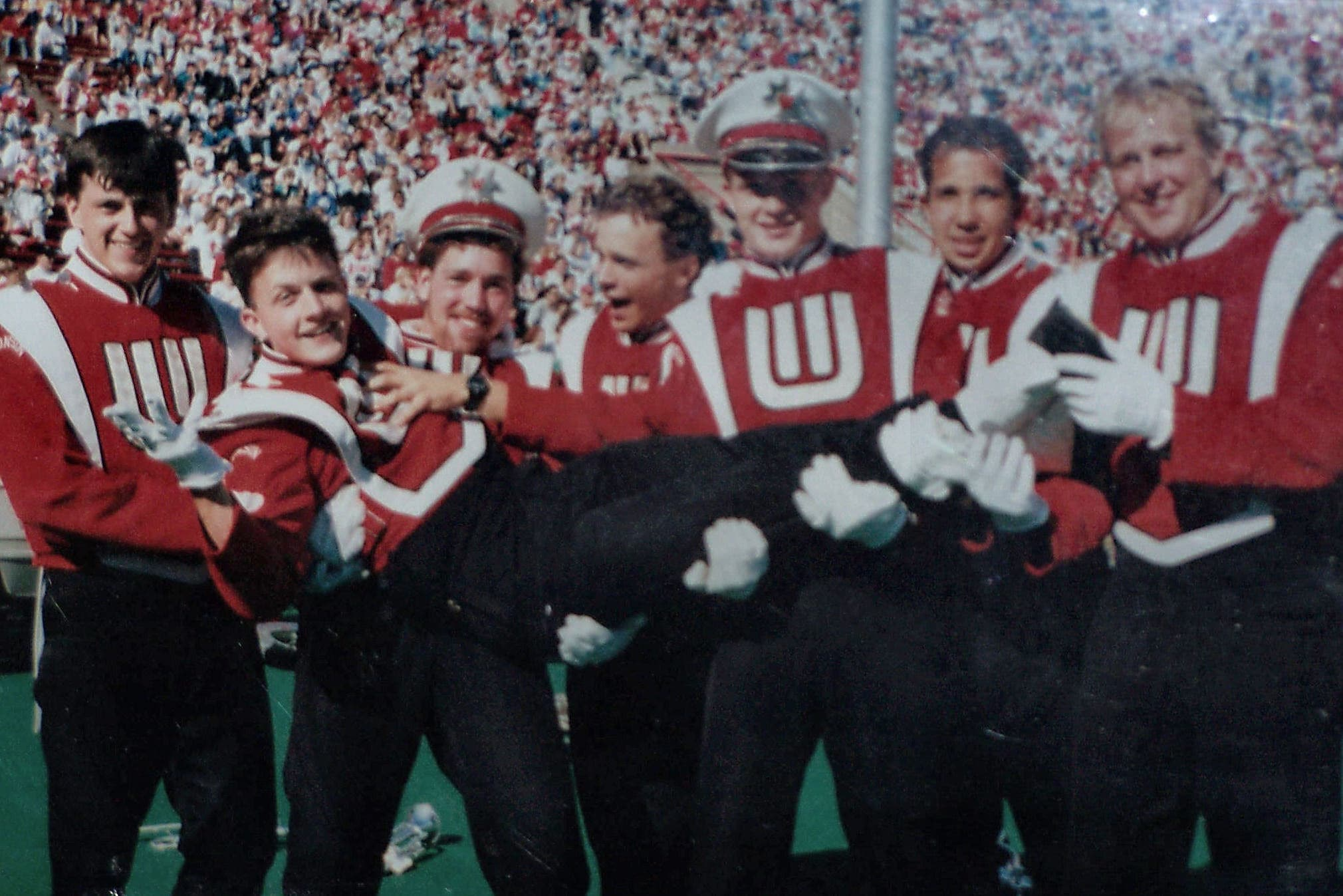 University of Wisconsin Marching Band friends