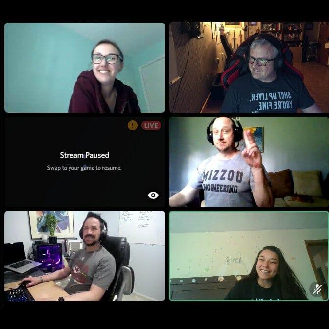 Virtual LAN Party Friends