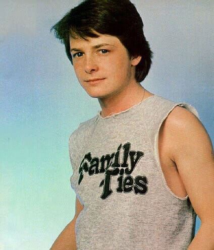 Young Michael J Fox