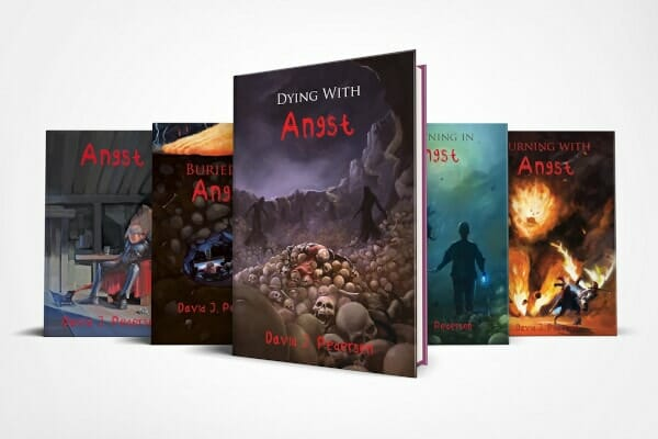 Angst Series Hardcover