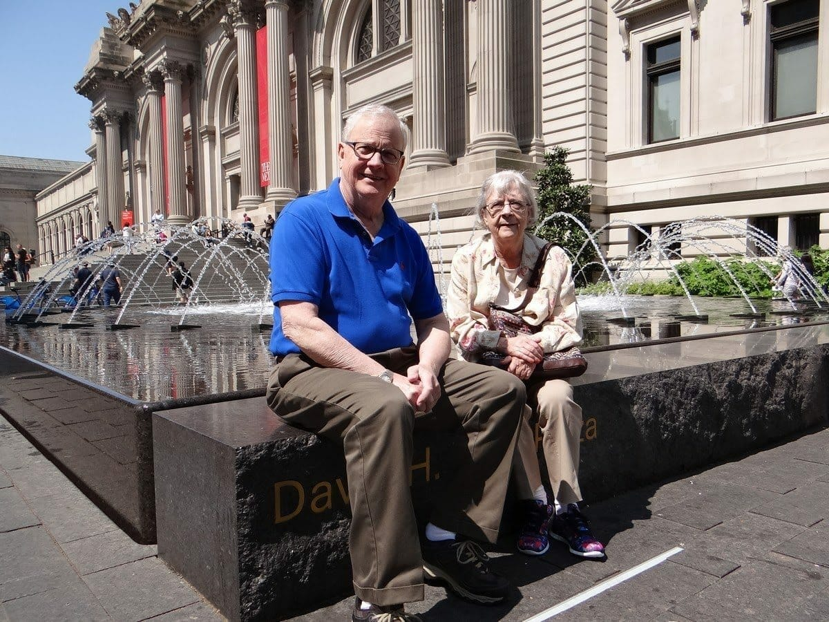Mom and Dad at The Met