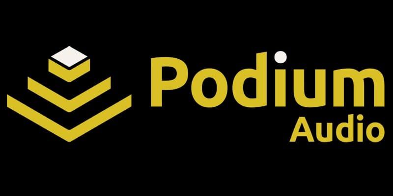 Podium Audio Logo