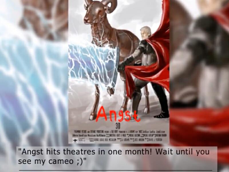 Look Forward Movie Post