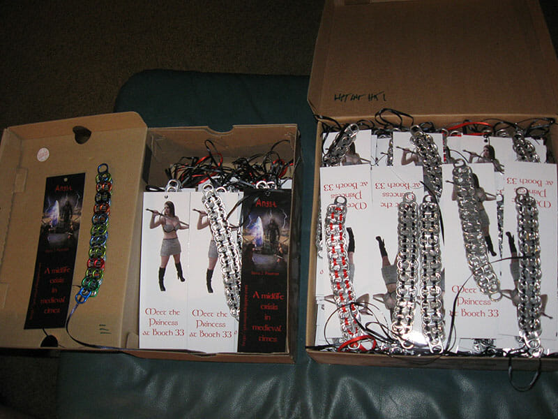 Chainmail Pop Tab Bracelets