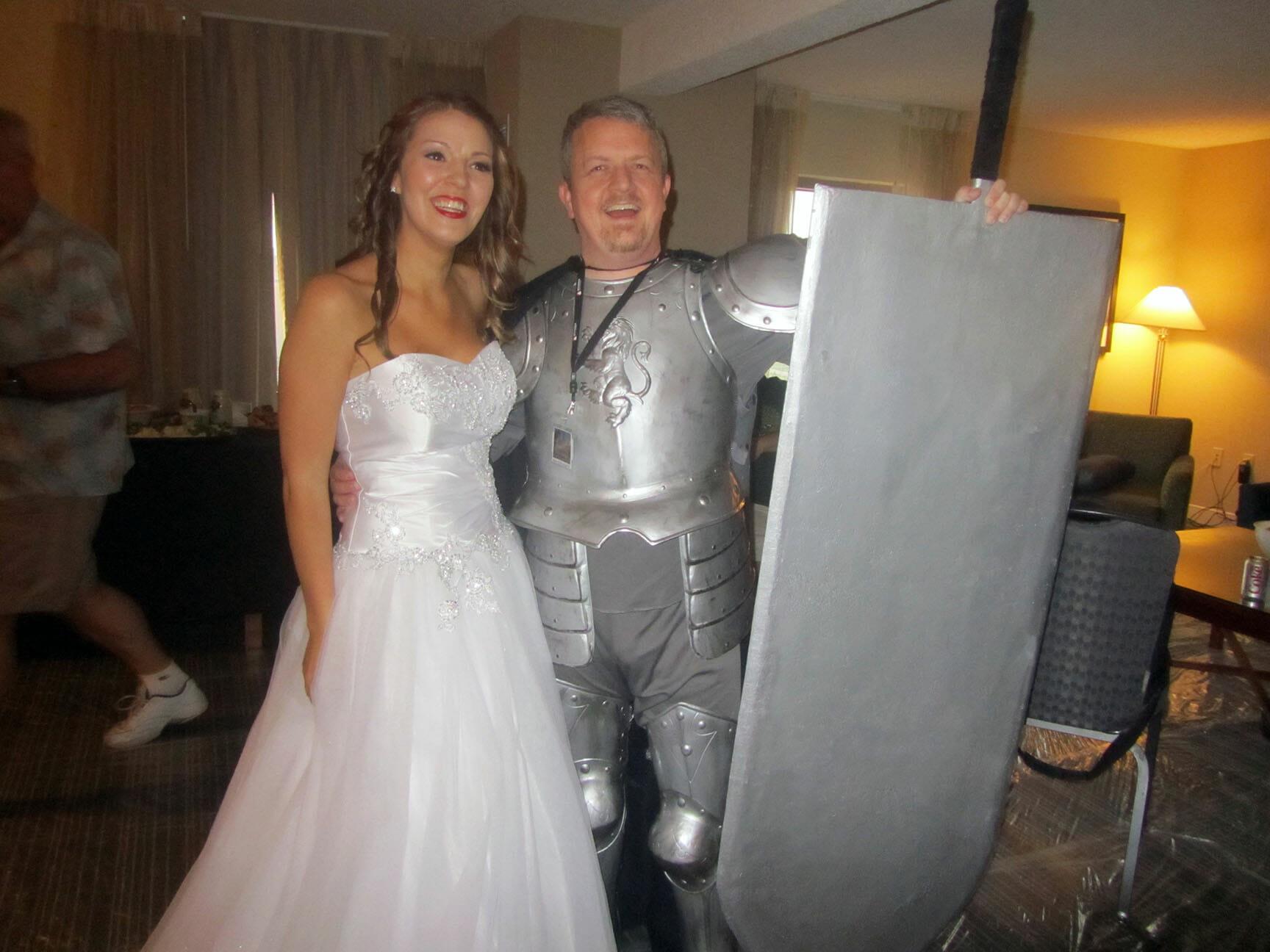 Princess Allie and Knight David