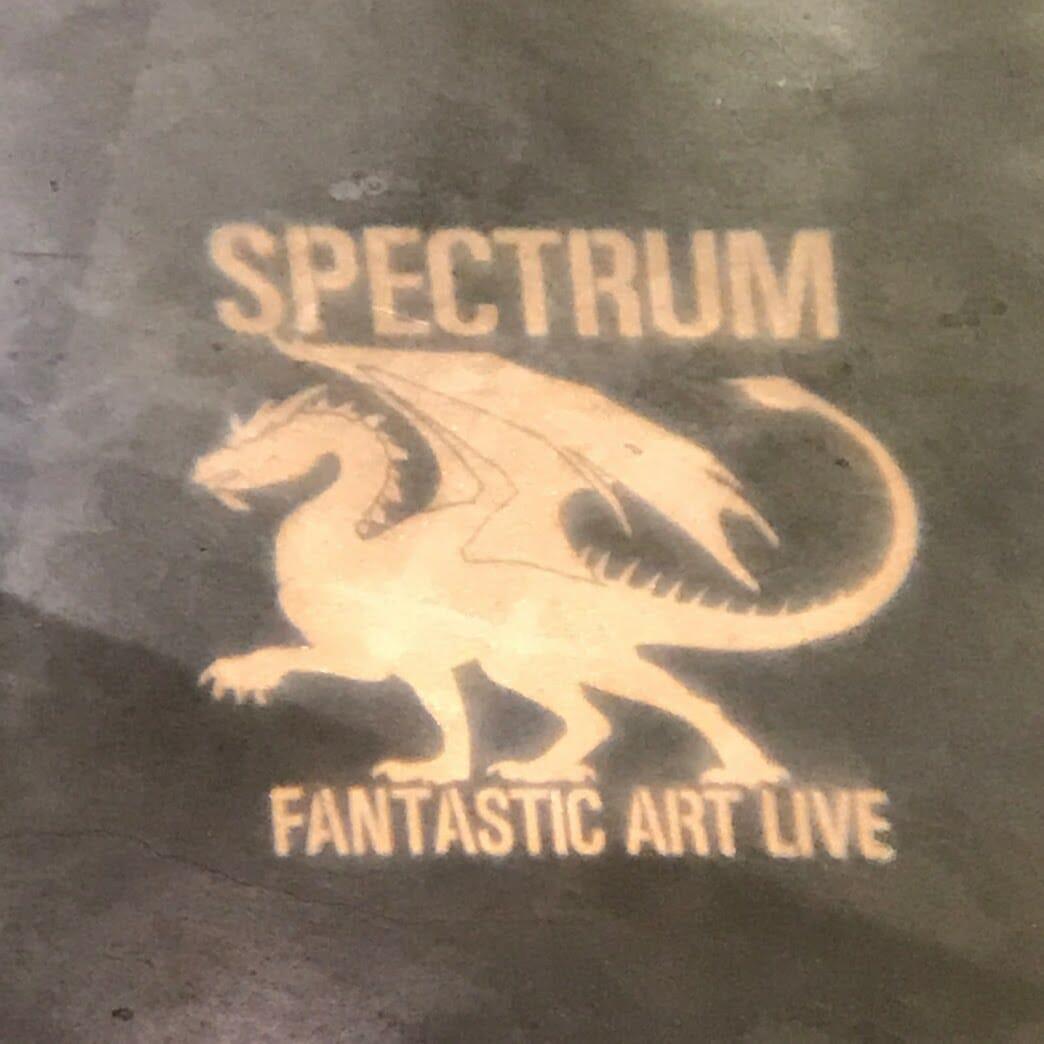Spectrum Fantastic Art Live Projection