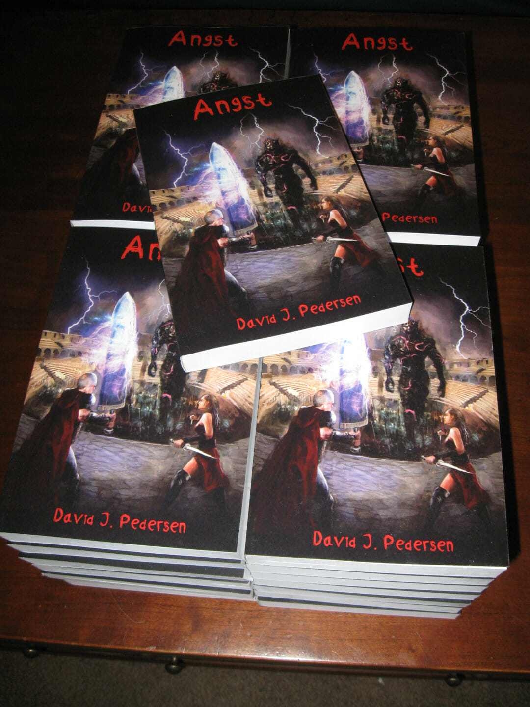 Angst Books with Vuk Cover