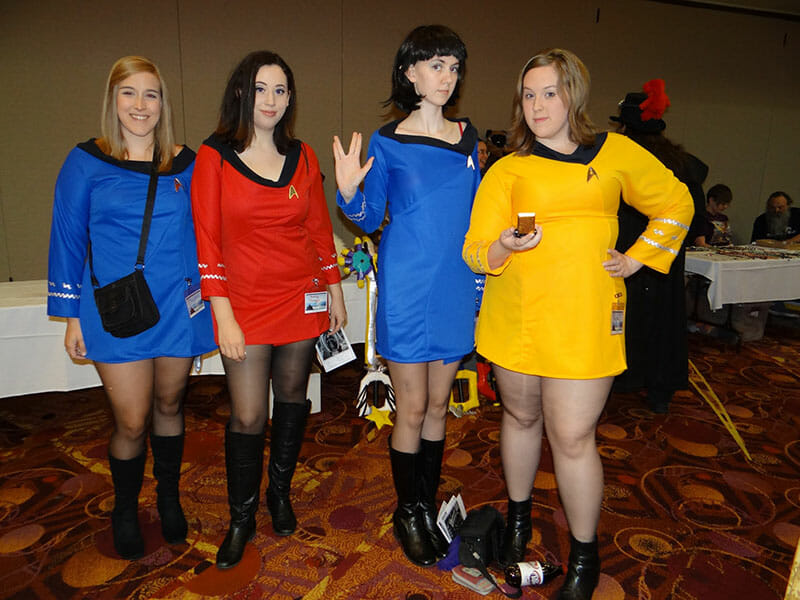 Star Trek Cosplay at OsFest 6